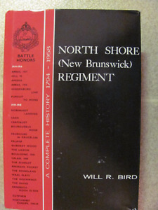 Book and medal of  North Shore N.B. Regiment by Will Bird