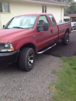2002 Ford F-250 supercab Pickup Truck