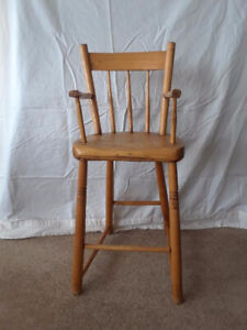 Antique Early Pioneer High Chair