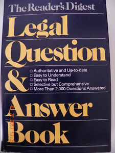 Legal Question & Answer Book