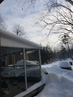 Snow removal off your structures