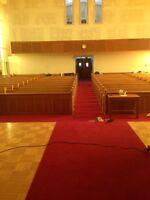 Church pews - banc d'église