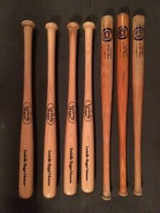 Louisville Slugger & London Tigers Mini Baseball Bats