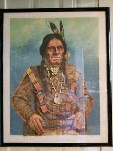 Native American. Limited Edition Lithographs