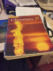 Very Good Condition Grade 11 Nelson Chemistry Textbook