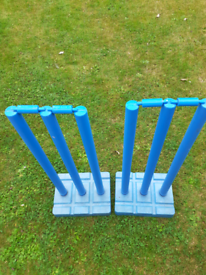 Sports gear cricket stumps