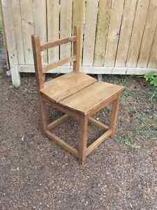Handmade Solid Wood Dining Table and Chairs