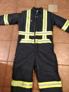 Insulated toughgear work coveralls (medium)