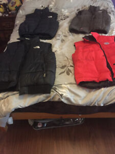 Bubble Canada Goose Vest and Northface