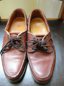 ALLEN EDMONDS KEY LARGO SIZE 9 B MENS SHOES