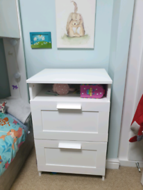 Ikea chest of drawers, storage unit.