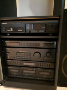 Pioneer Stereo System and Free cabinet
