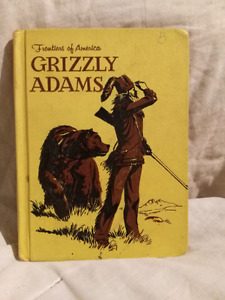 Vintage Grizzly Adams Hardcover