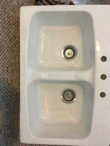 Fiberglass Kitchen Sink