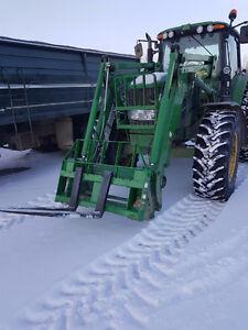 John Deere 7330 Loader Tractor for sale