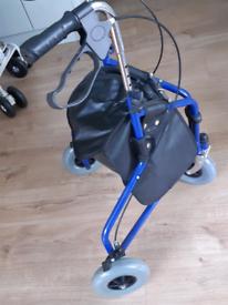 Tri-wheeled Mobility Walker