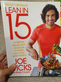 Joe Wicks Lean in 15 Cookbook