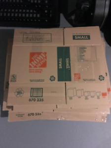Moving Supplies - 75 Boxes of various sizes - new /used - $50