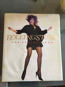 "Rollingstone ""The Photographs"" Coffee table book Cambridge Kitchener Area image 1"