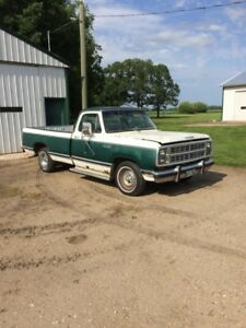 1979 dodge d150 factory 360 4bbl , 727 auto , dual exhaust