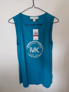MK Blue Top (new with tags on)