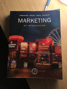 Marketing: an introduction, 6th edition, Armstrong