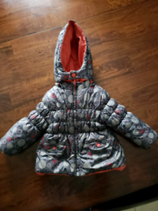 Reversible 12m Boboli girls winter jacket