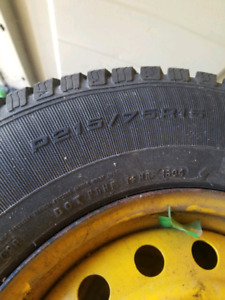 4 winter tires with rim