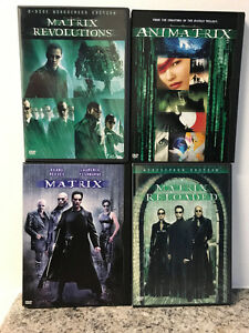 The Matrix DVD Collection - 4 DVDs