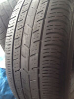 Set of 2 Continental Summer tires 205/65/15  call;(514)777-6421