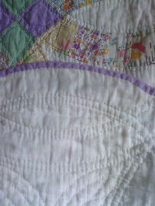 Hand-Stitched Quilt from circa the 1930's North Shore Greater Vancouver Area image 3