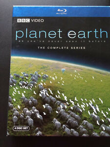 Planet Earth the complete series 4 disc set Blu-Rays