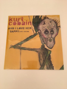 "Kurt Cobain 7"" vinyl single Nirvana - And I Love Her / Sappy"