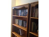Solid Wood Oak Bookcases