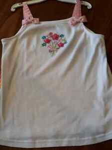 Gymboree size; 12 flowers & ribbons top