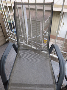 2 Chairs And Table Patio Set - $75