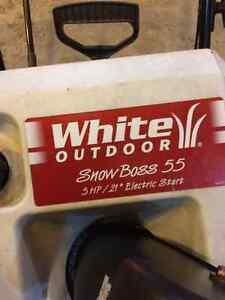 White Outdoor 5 hp snowblower