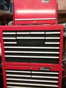Craftsman Tool Box And Complete Set Of Mechanic's Tools