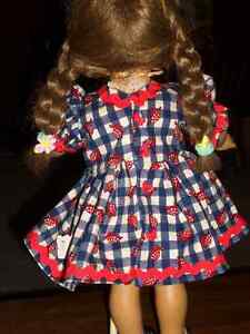 doll clothes  BEAUTIFUL  18 IN.DOLL DRESS Windsor Region Ontario image 2