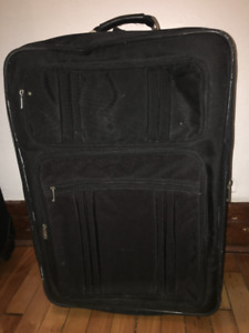 Very large used suitcase