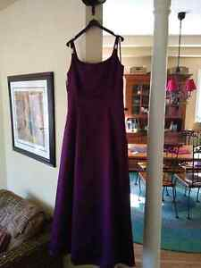 Plum gown - size 13/14