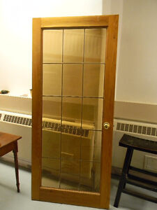 Pair of Antique Pine French Doors