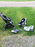 Graco travel system infant car seat and stroller