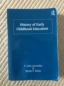 History of Early Childhood Education Textbook for Sale!