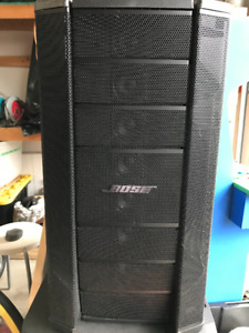 Set of Bose F1 - 812 + Mixer