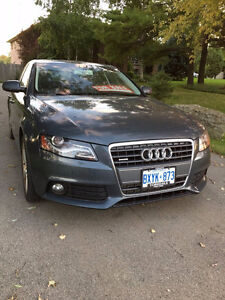 2011 AUDI A4 PREMIUM PLUS WITH PUSH START, BACK UP CAMERA, NAVI