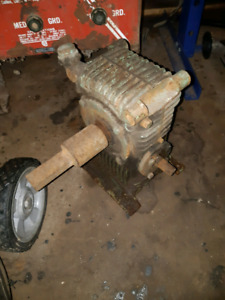 5-1 gear reduction drive