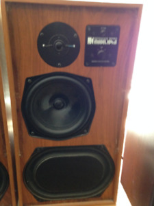KEF 104AB speakers, 1970s made in the UK