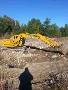 110 Deere Excavator