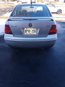 99-2005 VW jetta   TRUNK WITH SPOILER